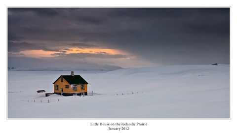 Little House on the Iceland Prarie