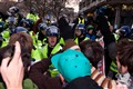 Clash between students and police in London 06/12/10