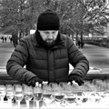 Nice music from glass and water