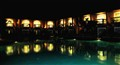 Night view at a resort in Goa