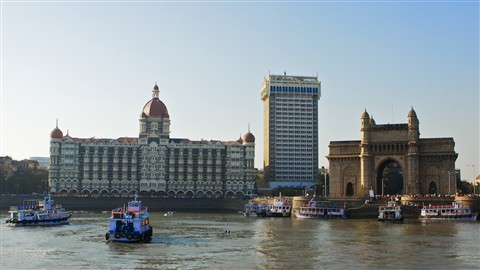 Taj at Gateway of India