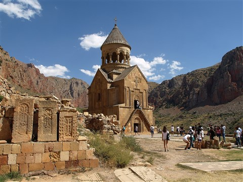 Armenian Church - Noravank 2012
