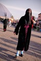 Woman at Marrakesh, Morocco