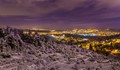 Snowy Night in Jerusalem