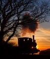 Sunset on the Talyllyn Railway, Wales