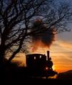 Sunset on the Talyllyn Railway, Wales