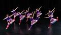 Eight ladies dancing