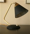 50s Small Desk Lamp Black