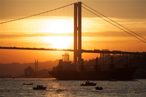 Bridge over Bosporus