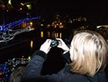 Canal Boat Light Parade, Birmingham