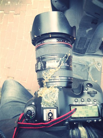 My camera is poo resistant ;-)