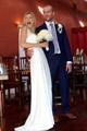 The bride erupts..