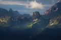 Distant Dolomites