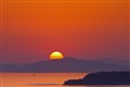 Sunset over the Seto Inland Sea