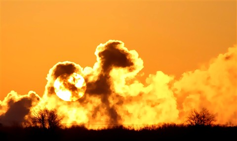 Steamy Sunrise 1