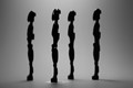 Giacometti Droids