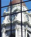 Reflections of city Hall