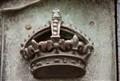 Detail on the gate surrounding Buckingham Palace
