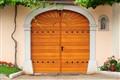 door to the hacienda