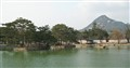 Gyeongbokgung palace lake.