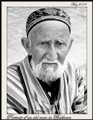 Portrait of an old man in Bukhara