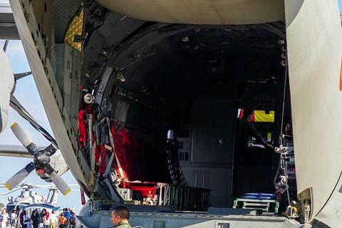 C-27J cargo bay