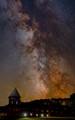 Milky Way over the Farm Barn, Shelburne, VT