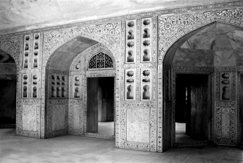 Agra-Fort-B-W