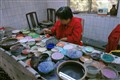 Cloisonné painting workshop, Beijing