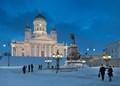 Senate Square in Winter