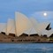 Supermoon and Sydney Opera House