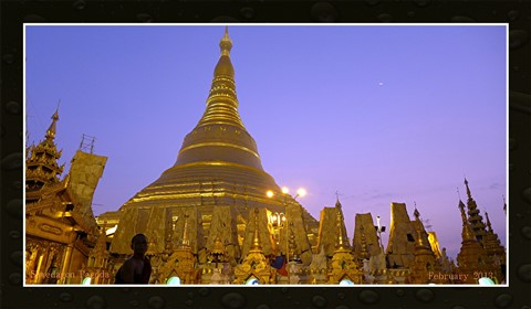 Mighty Shwedagon Rangoon Burma