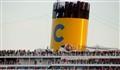 Costa cruising into Venice