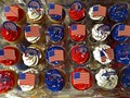 Patriotic Cupcakes for Sale at the Grocery Store