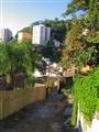 rua de Santa Teresa no Rio de Janeiro