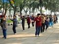 Tai Chi Practice in Beijing, China