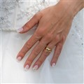 A brand new wedding ring