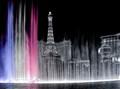 Bellagio Fountains and Paris