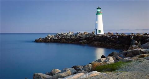 Walton Lighthouse - Santa Cruz, Ca.