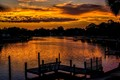 Bayou Sunset - Tarpon Springs, Florida