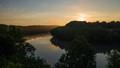Sunrise over the Potomac - Shepherdstown WV