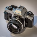 Bought used not long ago. I got the lens when I bought another Nikon analog camera, an FE.