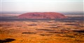 Uluru (Ayers Rock) from the Skies