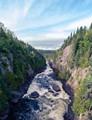 Chigamiwinigum Falls near the beginning of the Coastal Trail