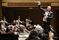 Conductor leads the Springfield Symphony Orchestra