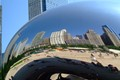 "The ""Bean"" located in downtown Chicago."