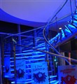 Blue Glow Stairs