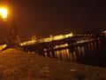 sul Ponte Carlo panorama del Castello