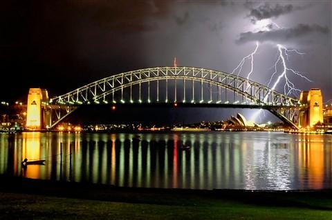 Sydney Harbour Lightshow 2 (2)