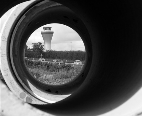 Airfiled control tower